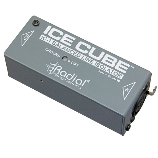 Radial IceCube IC1 Balanced XLR Line Isolator
