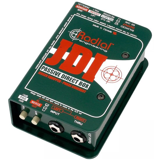 Radial JDI Passive Direct Box w/ Jensen Audio Transformer
