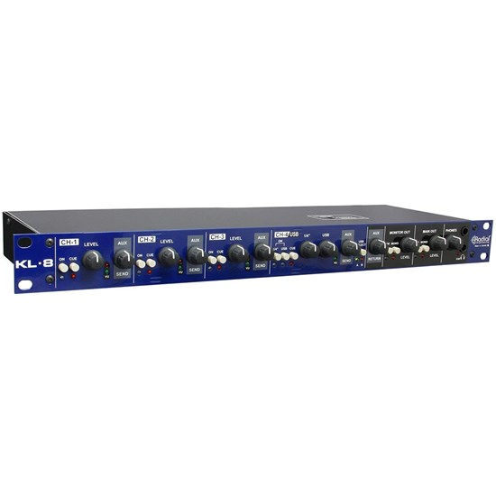 Radial KL8 Rackmount Keyboard Mixing Station