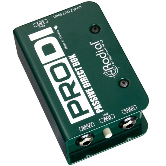 Radial ProDI Passive Direct Box w/ MuMETAL Shield