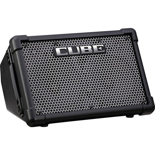 Roland Cube Street EX Battery Powered Stereo Amp (Black)
