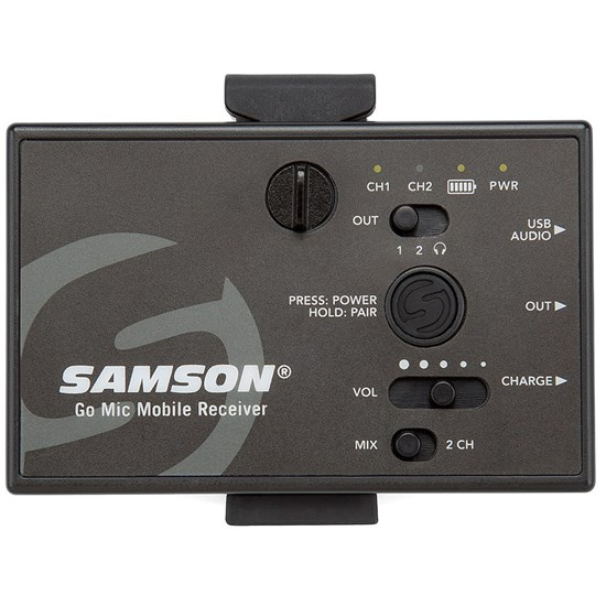 Samson Go Mic Mobile Professional Wireless Handheld Mic System for Mobile Phone