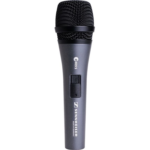 Sennheiser e835S Dynamic Cardioid Live Vocal Microphone w/ Switch