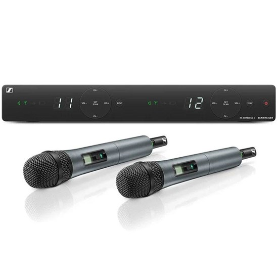 Sennheiser XSW 1 825 Dual 2-Channel Wireless Vocal System (Frequency Band A)