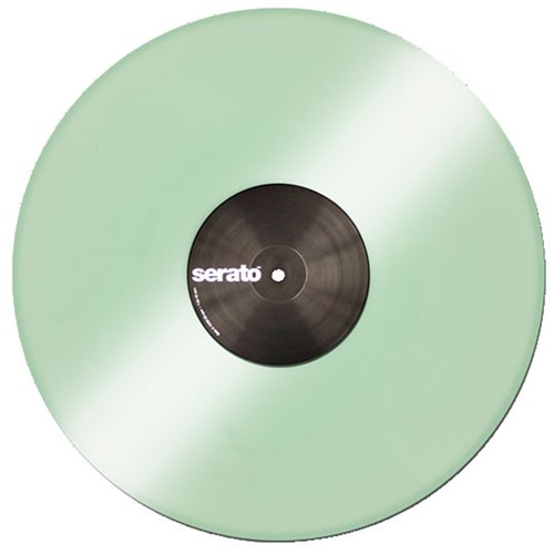 Serato Performance Vinyl: PAIR Glow in the Dark Coloured
