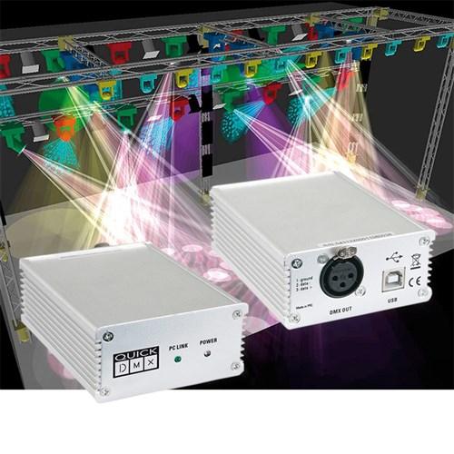 Wonderful Showtec Quick DMX 512 USB Lighting Software (512 Ch)