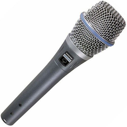 Shure Beta 87A Vocal Condenser Microphone