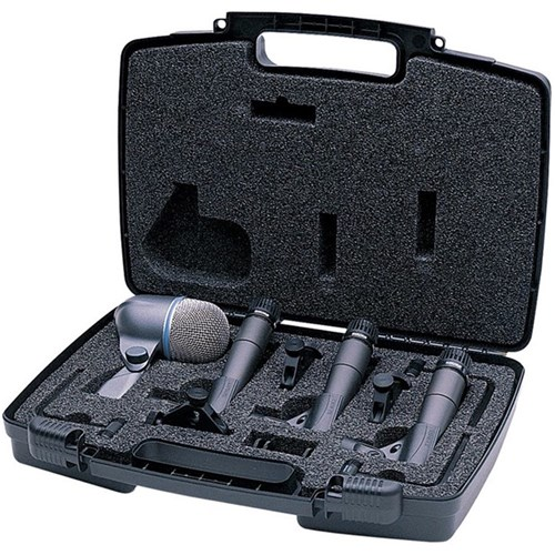 Shure DMK57-52 Drum Microphone Kit w/ Mounts & Case