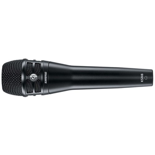 shure ksm8 dualdyne dual dynamic vocal microphone black condenser microphones store dj. Black Bedroom Furniture Sets. Home Design Ideas