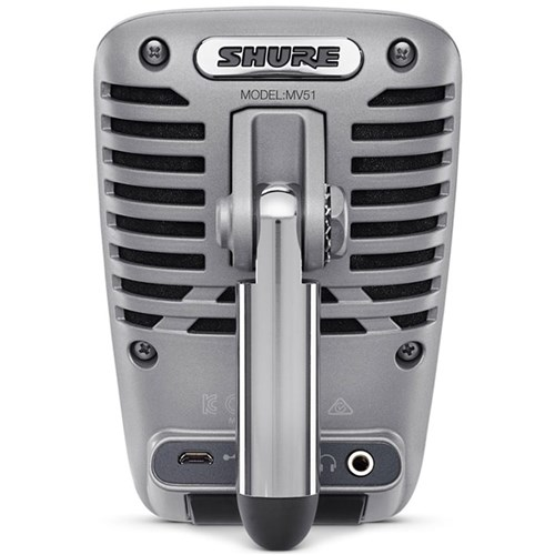 Shure Motiv MV51 Digital Large Diaphragm Condenser Microphone