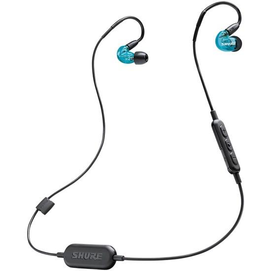 34e2e16d2b1 Shure SE215 Wireless Sound Isolating Earphones w/ Bluetooth (Blue) |  Earphones / Earbuds - Store DJ
