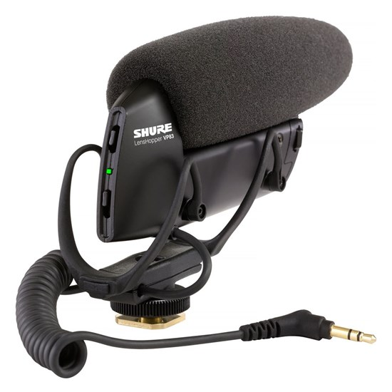Shure VP83 LensHopper Camera Mount Condenser Mic DSLR & HD Camcorders