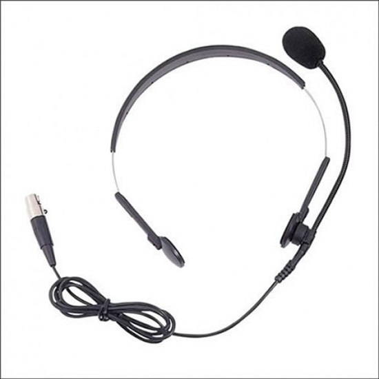 Smart Acoustic SHS250 SWM Headset Mic for SWM250 Wireless System (Black)