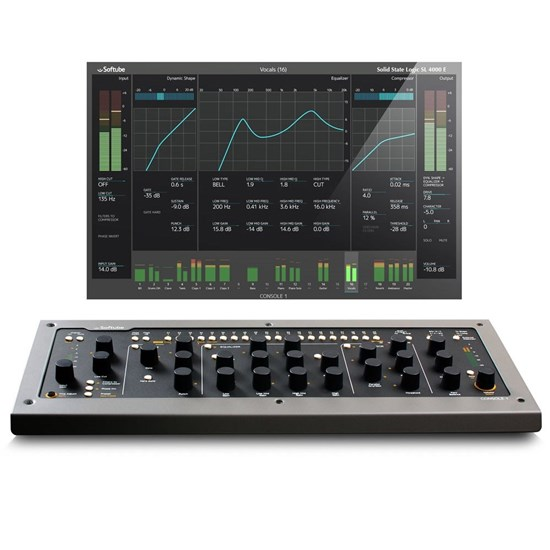 Softube Console 1 Complete Desk Package w/ MKII & Fader DAW/Plug-In Controllers