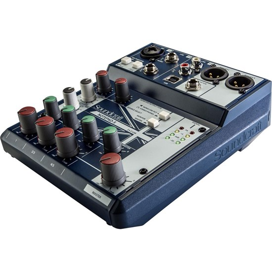Soundcraft Notepad 5 Small Format Analog Mixing Console W/ USB I/O