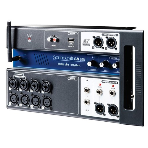 Soundcraft Ui12 12-In Remote Controlled Digital Mixer