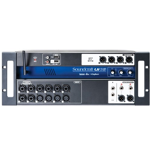 Soundcraft Ui16 16-In Remote Controlled Digital Mixer