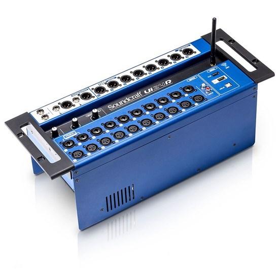 soundcraft ui24r 24 channel digital mixer usb multi track recorder w wireless control digital. Black Bedroom Furniture Sets. Home Design Ideas