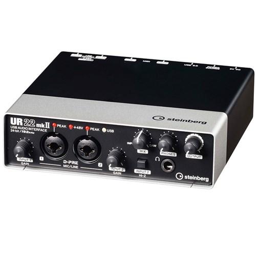 steinberg ur22mkii usb ios audio midi interface w cubase le cubase ai usb audio. Black Bedroom Furniture Sets. Home Design Ideas