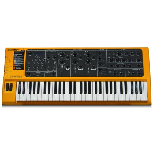 Studiologic Sledge 2.0 w/ Waldorf Synth Engine (Yellow)