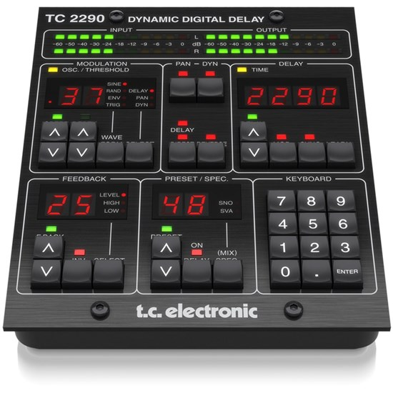TC Electronic TC2290 DT Legendary Dynamic Delay Plug-In w/ Desktop Interface