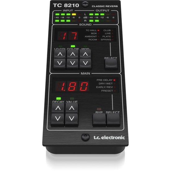 TC Electronic TC8210 DT Classic Mixing Reverb Plug-in Dedicated Hardware Controller