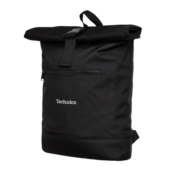 Technics Roll Top Backpack (Black)