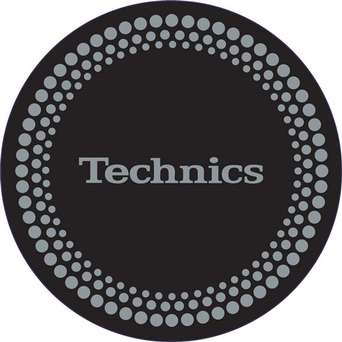 Technics Silver Dot Slipmats (Pair)