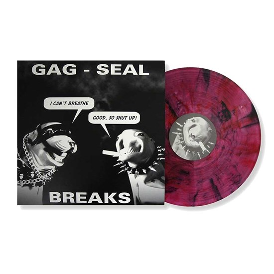 "Thud Rumble 12"" Gag-Seal Breaks (High Melt Red/Black/Clear)"
