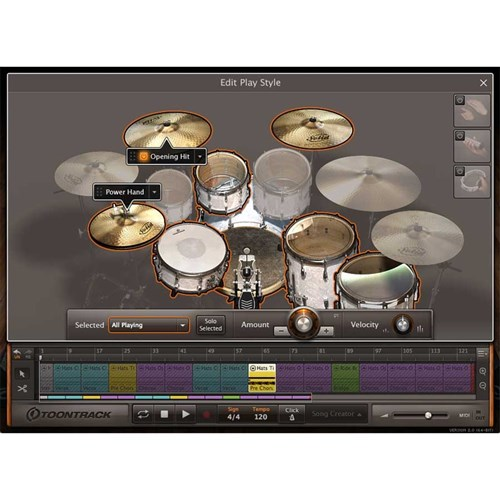 Toontrack EZ Drummer 2 Drum Production Software (Boxed Copy - License Only)