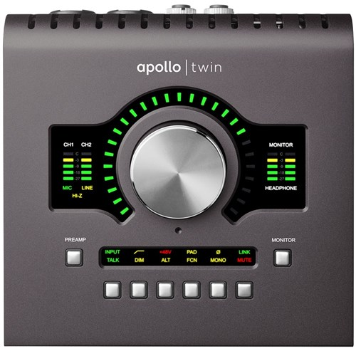 Universal Audio Apollo Twin 2 Solo Thunderbolt Interface