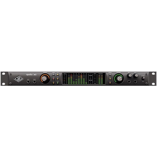 Universal Audio Apollo X6 Thunderbolt 3 Audio Interface w/ HEXA Core & UAD2 Processing