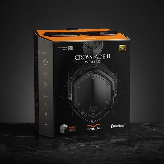 V-Moda Crossfade Wireless 2 Over-Ear Headphones (Matte Black)