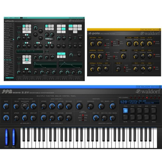 Waldorf Edition 2 Software Incl. PPG 2V, Attack & D Pole