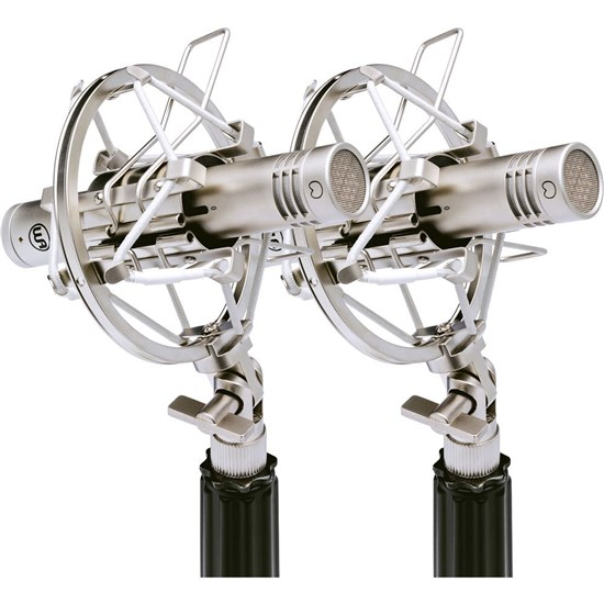Warm Audio WA84 Small Diaphragm Condenser Mics (Nickel - Stereo Pair)