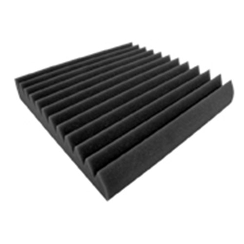 Wave Panels Thick Tiles Acoustic Treatment - 600mm x 600mm x 100mm (4 Pack)
