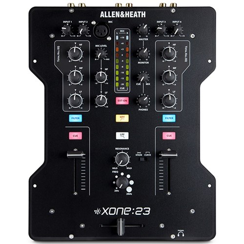 Allen & Heath Xone:23 Analogue DJ Mixer