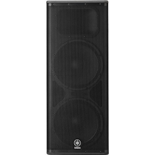 yamaha dsr215 1300w dual 15 powered pa speaker powered