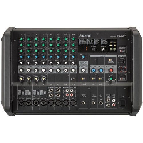 Yamaha EMX5 12-Channel 630W Powered Mixer