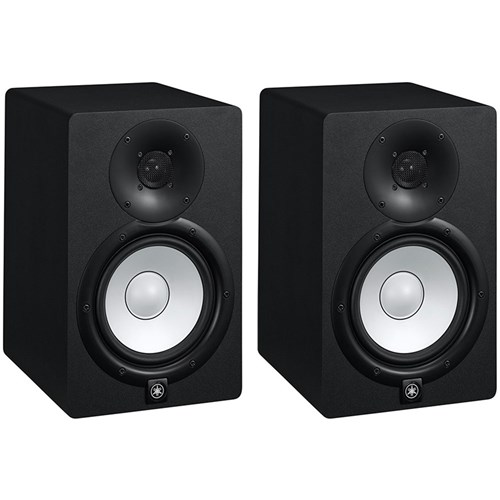 yamaha hs7 6 5 active studio monitors pair active. Black Bedroom Furniture Sets. Home Design Ideas