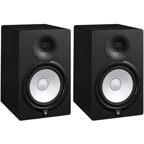 yamaha hs8 8 active studio monitors pair active. Black Bedroom Furniture Sets. Home Design Ideas