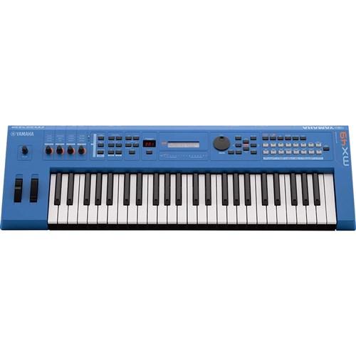 Yamaha MX49 BU MK2 Synthesiser w/ MOTIF XS Sound Engine