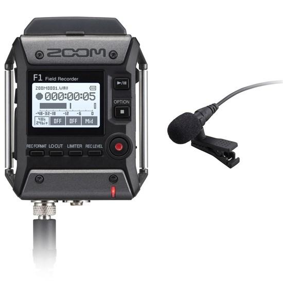 Zoom F1LP F1 Field Recorder w/ LMF1 Lavalier Mic