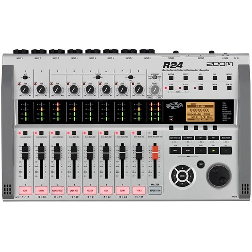Zoom R24 Multi-Track Recorder / Interface / Controller