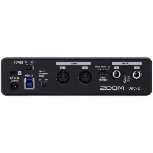 zoom uac 2 usb 3 0 audio interface usb audio interfaces store dj. Black Bedroom Furniture Sets. Home Design Ideas
