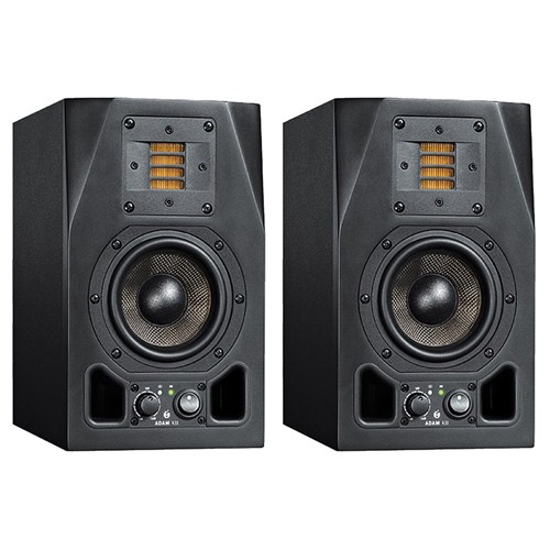 "ADAM A3X 2-Way 4.5"" Nearfield Active Studio Monitors (Pair)"