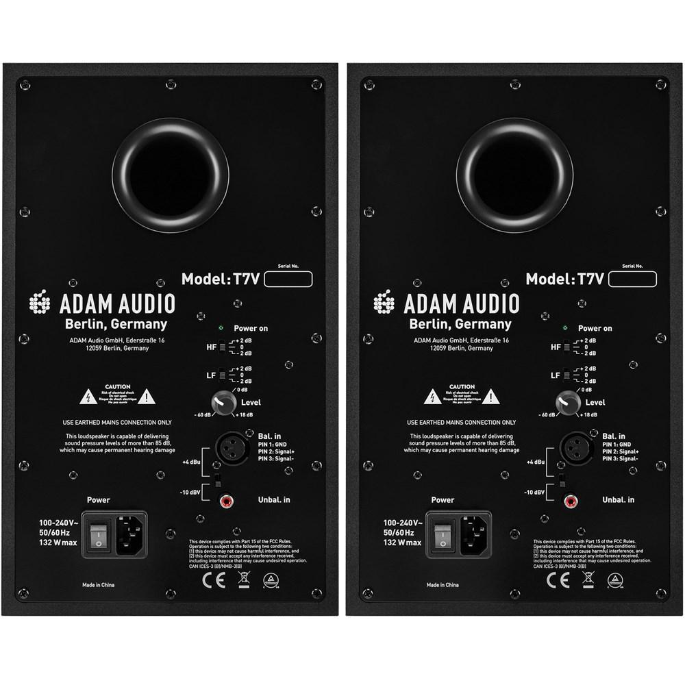 adam t7v 2 way 7 nearfield active studio monitors pair active studio monitors store dj. Black Bedroom Furniture Sets. Home Design Ideas