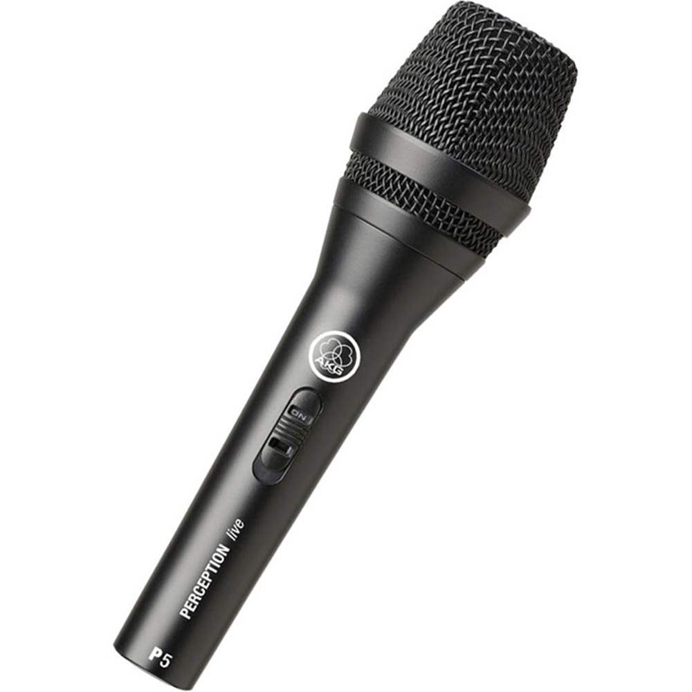 akg p5s vocal dynamic microphone w switch dynamic microphones store dj. Black Bedroom Furniture Sets. Home Design Ideas