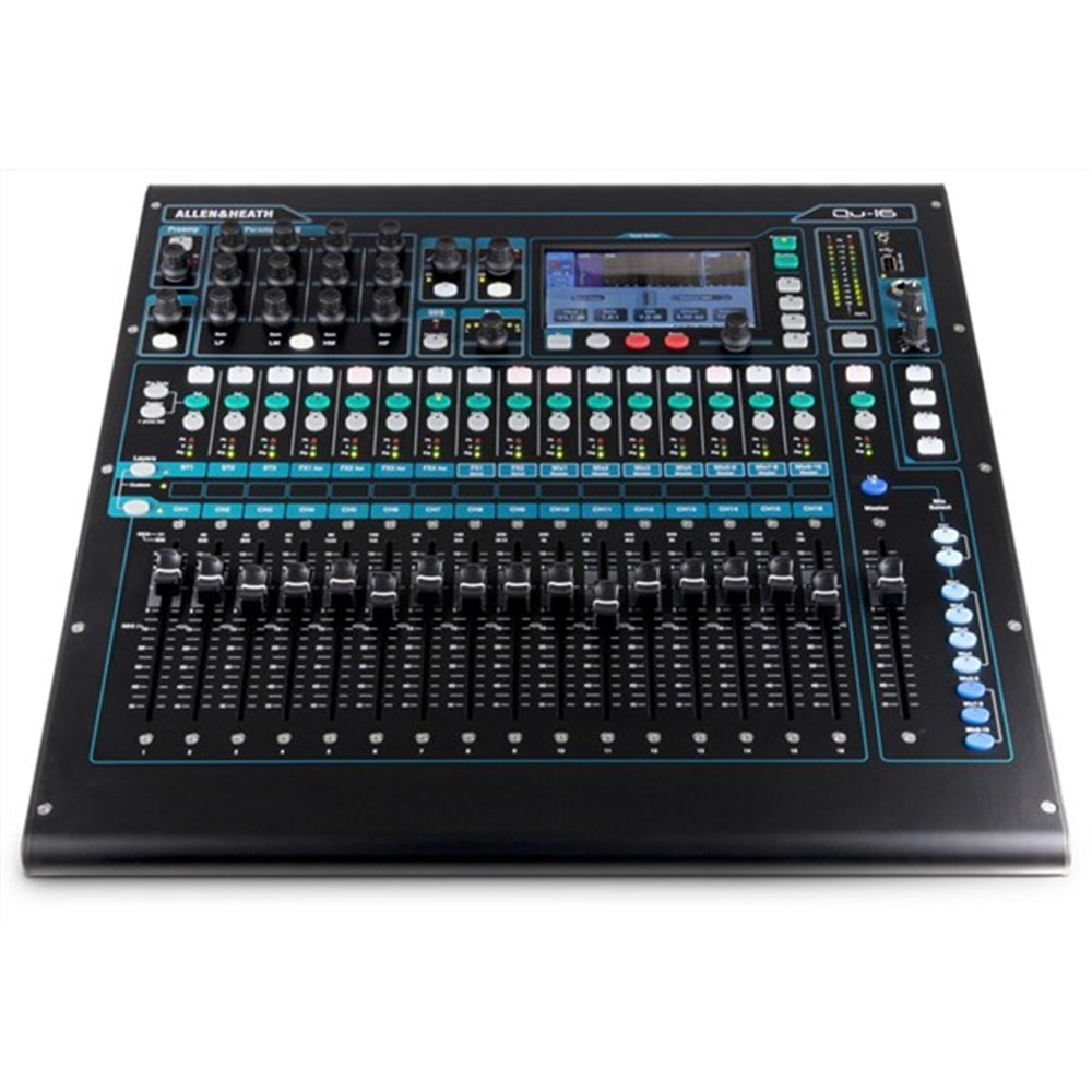 allen heath qu16 22 in 12 out digital mixer digital studio mixers store dj. Black Bedroom Furniture Sets. Home Design Ideas
