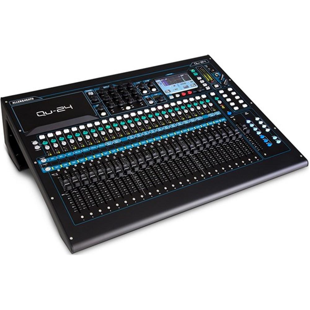 allen heath qu24 30 in 24 out digital mixer digital studio mixers store dj. Black Bedroom Furniture Sets. Home Design Ideas